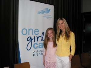 "Madison and I at ""Dove Movement"" launch"