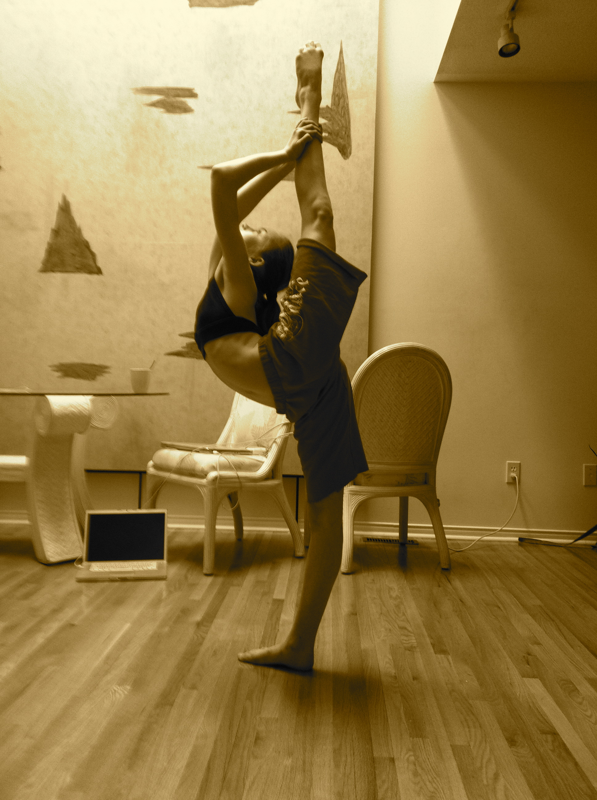 learn how to do the scorpion pose