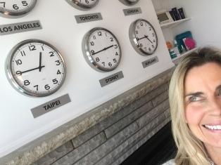 My time zone clocks