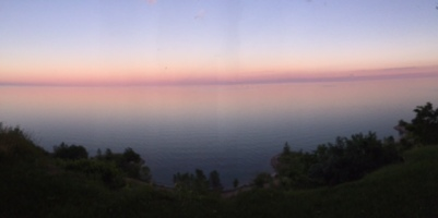 Scarborough Bluffs spectacular sunset