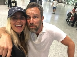 JR Bourne and Kim MacGregor