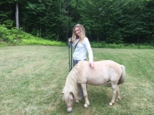 Madison MacGregor and pony